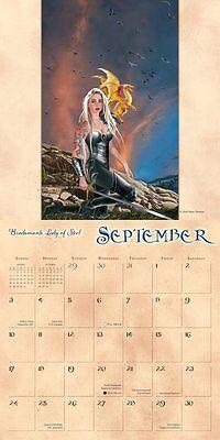 Fantasy Art Of Nene Thomas 2017 Wall Calendar Dragon Witches