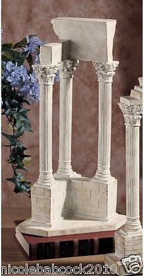 Set Of 2 Ancient Roman Excivated European Column Artifact Sculptures 3 • CAD $126.36