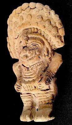 Authentic Pre Columbian Clay Art Figure From Ecuador 8