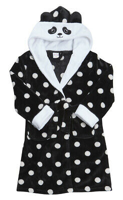 Kids Childrens Novelty Dressing Gown Robe Fun Fleece Character Design Ages 2-13 8