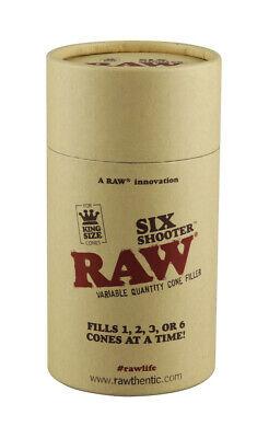 "RAW Six Shooter Kingsize Cone Filler - 6.1"" 2"