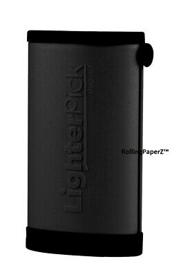 New! BLACK LIGHTERPICK Tobacco Dugout Smoking System - Water Tight & Smell Proof 4