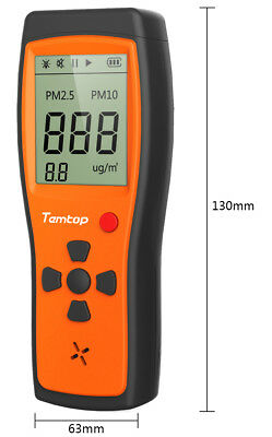 Temtop P200 Air Quality Formaldehyde Monitor Detector with PM2.5/PM10 2