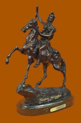 The Scalp Bronze Sculpture Frederic Remington Finest USA Lost Wax Casting Decor