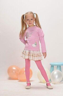 Weiche blickdichte Kinder Mädchen Baby Strumpfhose alle Größen Farben 67-158 10
