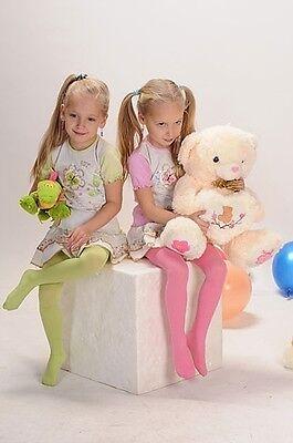 Weiche blickdichte Kinder Mädchen Baby Strumpfhose alle Größen Farben 67-158 12