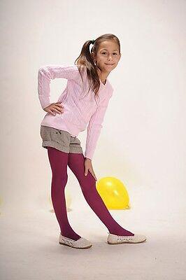 Weiche blickdichte Kinder Mädchen Baby Strumpfhose alle Größen Farben 67-158 9