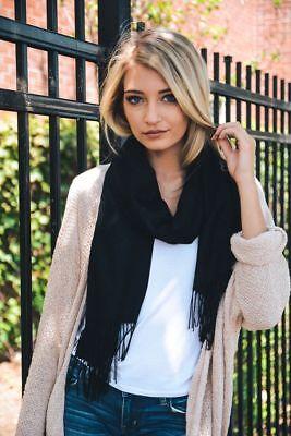 Fashion Womens Lady Girl Pashmina Warm Soft Solid Long Pashmina Shawl Wrap Scarf 5
