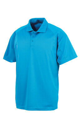 Mens Lightweight Aircool Polo T Shirts Size S to 5XL PLAIN SPORTS & CASUAL SHIRT 6