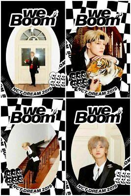 NCT DREAM [WE BOOM] 3rd Mini Kihno Album Kit+POSTER+2ea Folding Photo+Card+GIFT 4