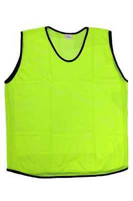 67a76c7638cc 1 of 3FREE Shipping 6 Scrimmage Vests Soccer Basketball Team Training Youth  Adult Pinnies Jerseys
