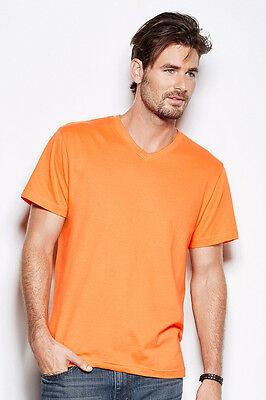 T-Shirt Maglietta Manica Corta Uomo Stedman St2300 Collo A  V  Personalizzabile 3