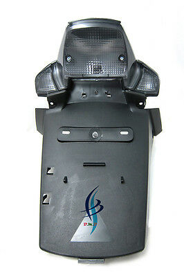 Smoke Set Yamaha BWS 50 100 Rear Taillight Lens & Turn signal Blinker cover 3