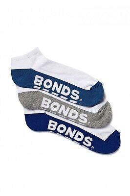 10 Pairs Brand New Bonds Men's Sports Ankle Low Cut Running Socks Sz 6 10 11 14 5