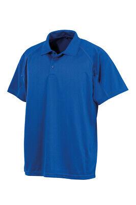 Mens Lightweight Aircool Polo T Shirts Size S to 5XL PLAIN SPORTS & CASUAL SHIRT 7
