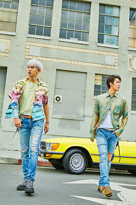 EXO-SC WHAT A LIFE Mini Album CD+POSTER+P.Book+2Card+F.Poster+N.Tag+Sticker+GIFT 2