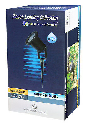 Garden Spike Lights Adjustable Outdoor IP65 GU10 Mains Various Pack Sizes 11