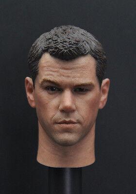 """1//6 Scale MUFC David De Gea Head Sculpt For 12/"""" Figure Body"""