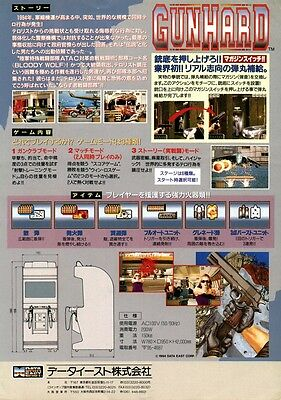 Manuals & Guides Arcade Gaming 1995 Data East Outlaws Of The Lost Dynasty Jp Video Flyer