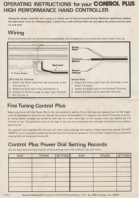 Aurora Ho Track Wiring | Wiring Diagram on