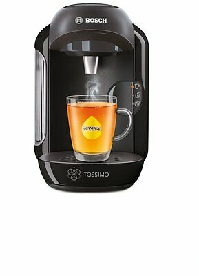 Bosch Tassimo Vivy Hot Drinks and Coffee Machine 1300W Instant Coffee Pods Black 8