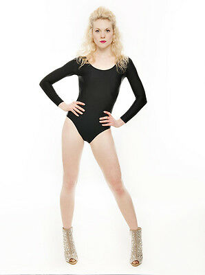 Donne Ragazze Costume Hallloween Nero Body Outfit Tutte Le Misure Da Katz 3