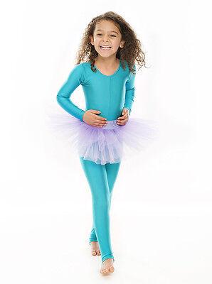 Da Ragazza Lilla Balletto Danza Costume 3 Rete Strato Morbido Gonna Tutù Da Katz 3 • EUR 10,61