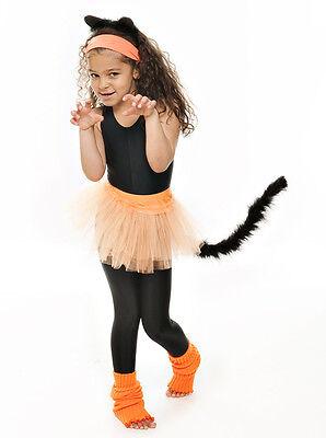 Da Ragazza Arancione Balletto Danza Costume 3 Rete Strato Morbido Gonna Tutù 4