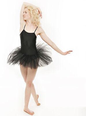 Black Swan Halloween Ballet Fancy Dress Costume Tutu Outfit All Sizes By Katz