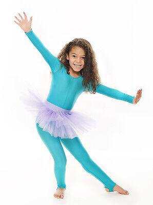 Da Ragazza Lilla Balletto Danza Costume 3 Rete Strato Morbido Gonna Tutù Da Katz 2 • EUR 10,61