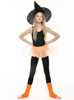Da Ragazza Arancione Balletto Danza Costume 3 Rete Strato Morbido Gonna Tutù 8