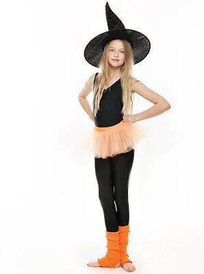 Da Ragazza Arancione Balletto Danza Costume 3 Rete Strato Morbido Gonna Tutù 5