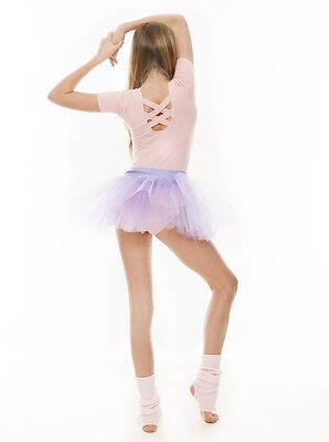 Da Ragazza Lilla Balletto Danza Costume 3 Rete Strato Morbido Gonna Tutù Da Katz 5 • EUR 10,61