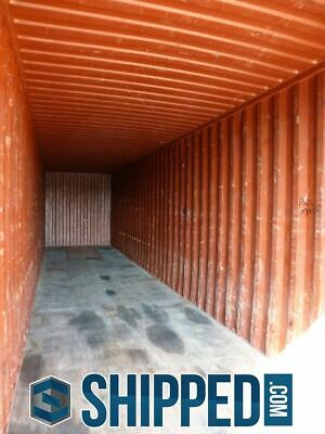 ON SALE! USED WWT 40FT HIGH CUBE SHIPPING CONTAINER HOME STORAGE in DALLAS TEXAS 5