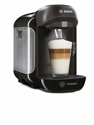 Bosch Tassimo Vivy Hot Drinks and Coffee Machine 1300W Instant Coffee Pods Black 2