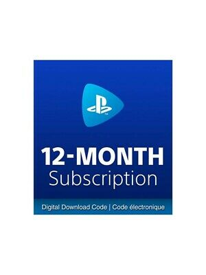 Playstation Now 12 Months Subscription - REAL UK/EU CARDS - RRP 49.99 2