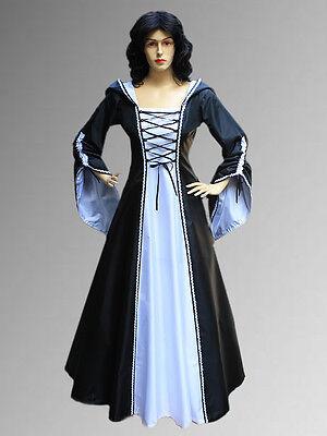 c698e8d0804 MEDIAEVAL RENAISSANCE SORCERESS Gown witch Medieval Fantasy Costume