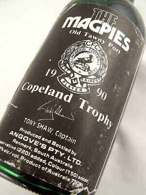 1990 circa NV ANGOVES The Magpies Copeland Trophy Port B Isle of Wine