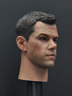 Custom 1//6 Scale Matt Damon Head Sculpt For Hot Toys Figure Body