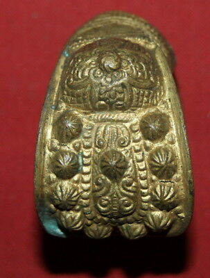 Ancient Greek Orthodox Folk Brass Fertility Bracelet 5