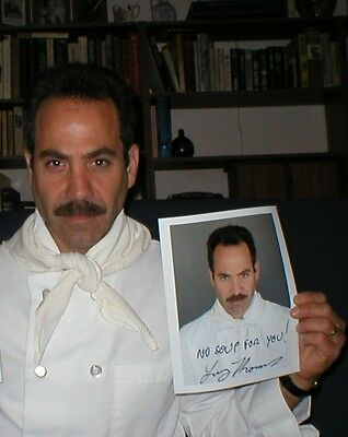 Seinfeld Soup Nazi photo personally signed to you