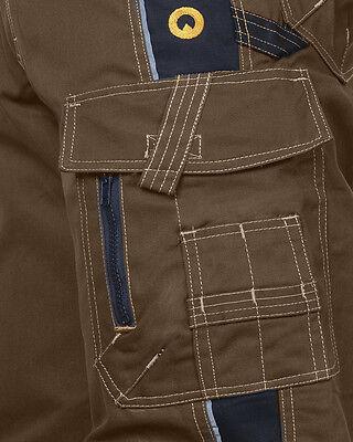 Arbeitshose Sicherheitshose Bundhose Multifunktion + Gürtel + Tasche (V-SP)