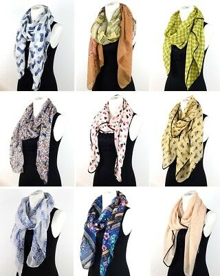 Ladies Fashion Long Scarf - Silky Bali Cotton All Seasons Scarf