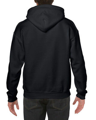 Gildan Adult Heavy Blend Pullover Hooded Sweatshirt Plain Hoodie top 5