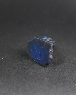 Rare ancient Egyptian lapis lazuli miniature carved figure of a scribe 6