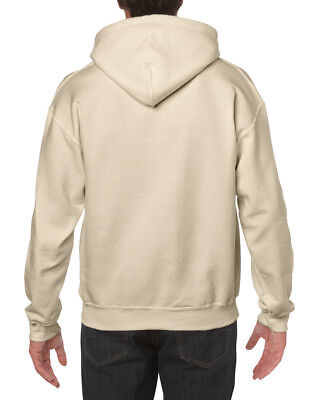 Gildan Adult Heavy Blend Pullover Hooded Sweatshirt Plain Hoodie top 6