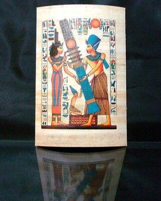 Ancient Egyptian Papyrus Wonderfully Handmade Colorful Piece Superior Quality -G 2