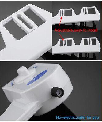 Toilet Bidet Seat Spray Water Wash Attachment Bathroom Home Sanitation 1 Nozzle 7
