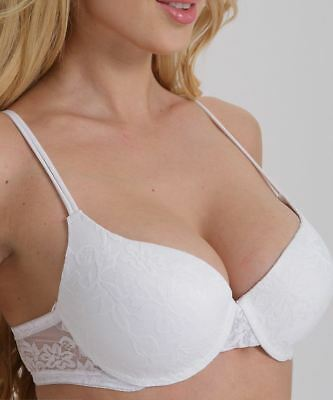 35b0b8a406 ... Sexy Lady s Boost Enhancer Padded Push Up Comfort Bra UK size 38B WHITE  KSBY 3