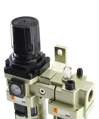 Maintenance Units, 2-teilig, Compressed Air Regulator Oiler Pressure Reducer 3